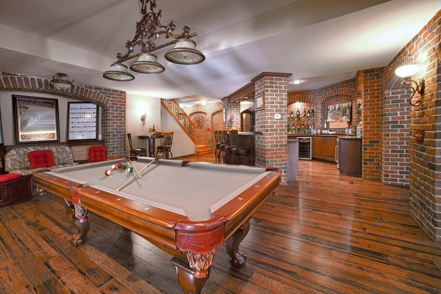 Finished Basement Traditional Basement Detroit By
