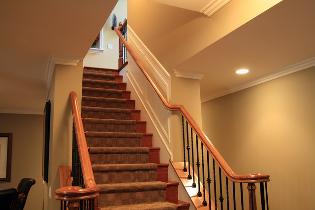 Great How To Finish Basement Stairs Pictures Best Basement 2017