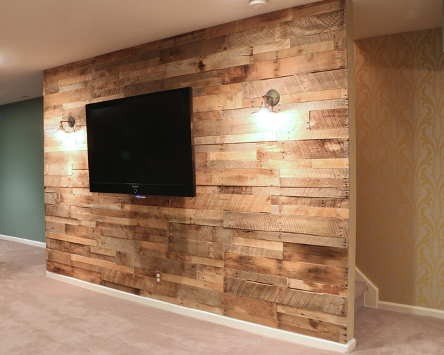 Finished basement traders point indianapolis rustic for Rustic basement