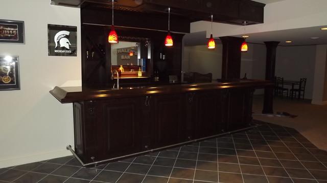 Finished Basements traditional-basement