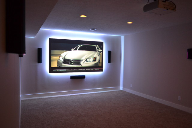 110 Quot Theater W Led Ambiance Amp 7 1 Surround Sound