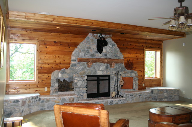 Salt Lamps Ellijay Ga : Fohl house - Traditional - Basement - nashville - by S & P Construction
