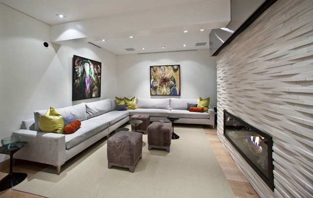 Forest Road Private Residence Vail Co Contemporary Basement Other By J Powell