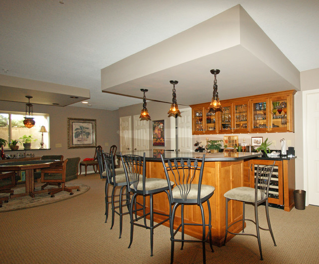 game area traditional basement minneapolis by scc kitchen bath