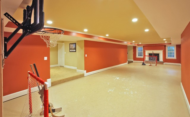 game room traditional basement dc metro by finecraft
