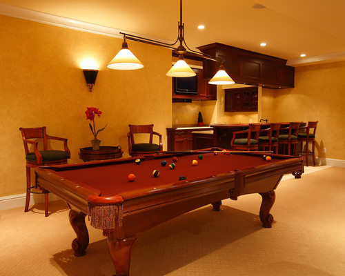 Great Light Over Pool Table Houzz