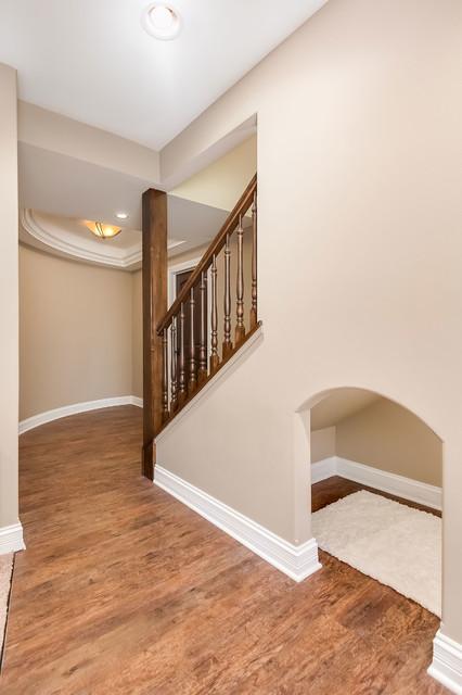 Gilbert City Basement Stairs & Nook