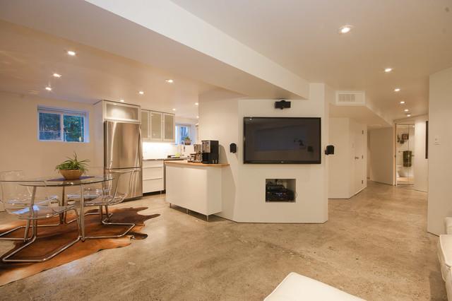 glenmore legal basement suite contemporary basement