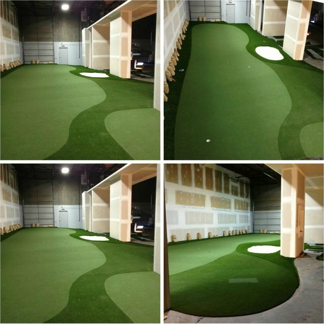 Golf Traditional Basement Vancouver By Synthetic