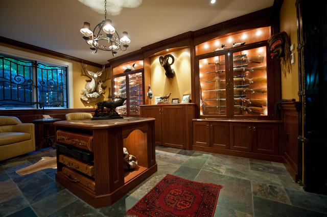 Gun Room - Traditional - Basement - toronto - by Cambridge Kitchens & Baths
