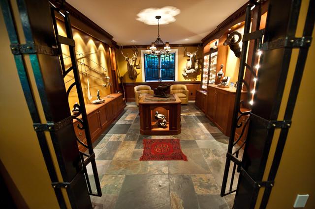 Gun Room Traditional Basement Toronto By Cambridge