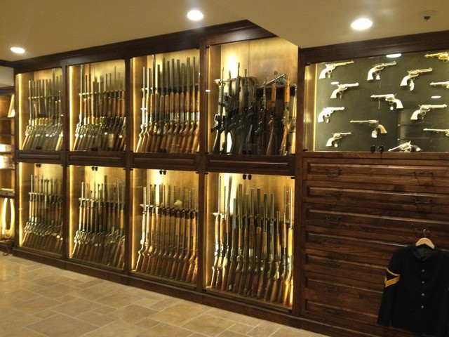 gun room traditional basement denver by enoch choi