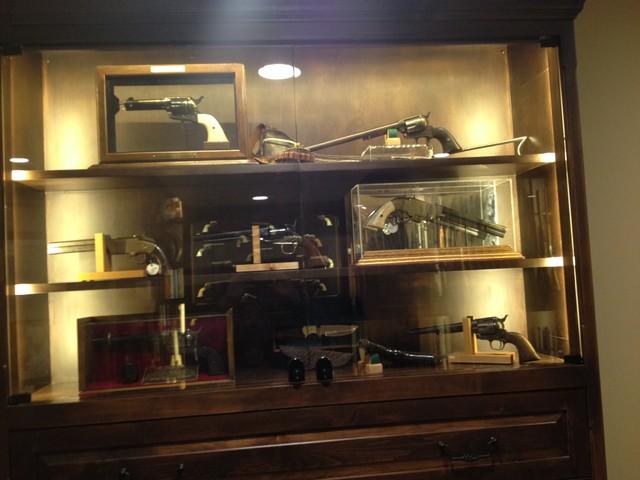 Gun Room - Traditional - Basement - Denver - by Enoch Choi Design & Construction Services, LLC