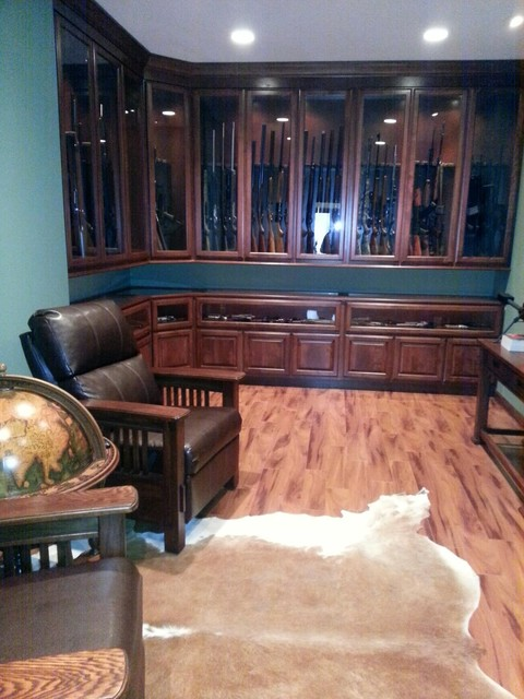 Gun Room Traditional Basement St Louis By K Build