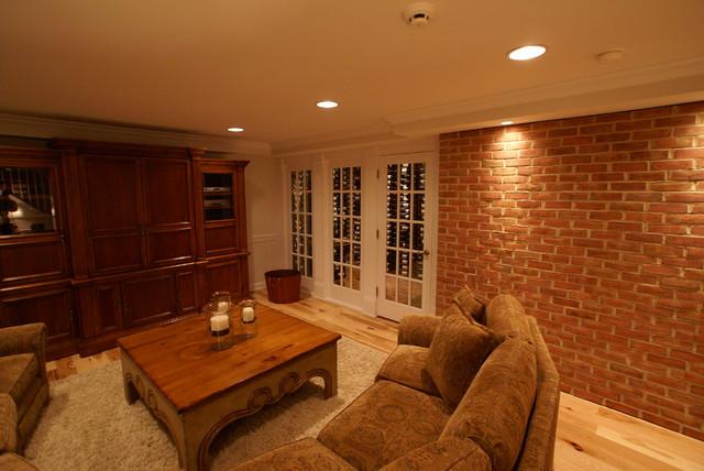 Hamilton VA Basement Finish traditional-basement & Hamilton VA Basement Finish - Traditional - Basement - DC Metro ...