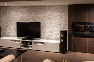 Hansen - Modern - Basement - Toronto - by Allen Interiors & Design Center Inc
