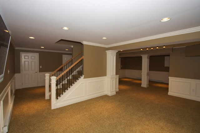 HCC BASEMENTS traditional basement