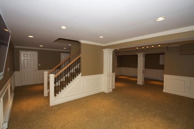 Hcc Basements Traditional Basement Philadelphia By