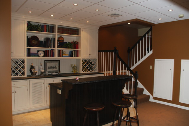 HCC BASEMENTS traditional-basement