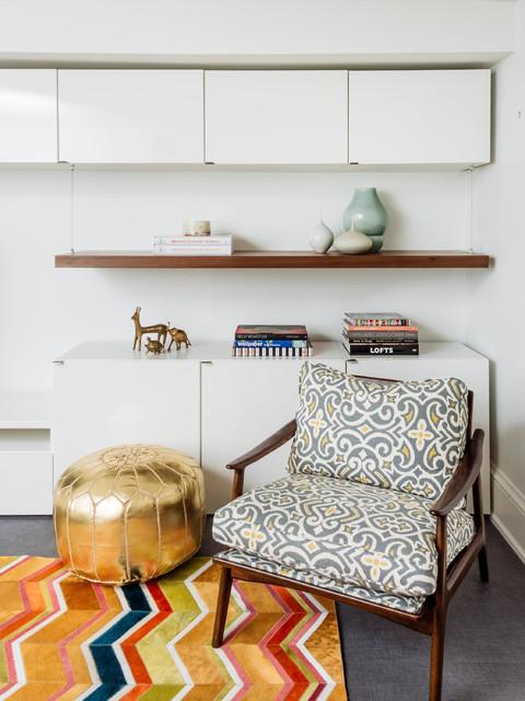 客厅橱柜混搭风格装饰效果图
