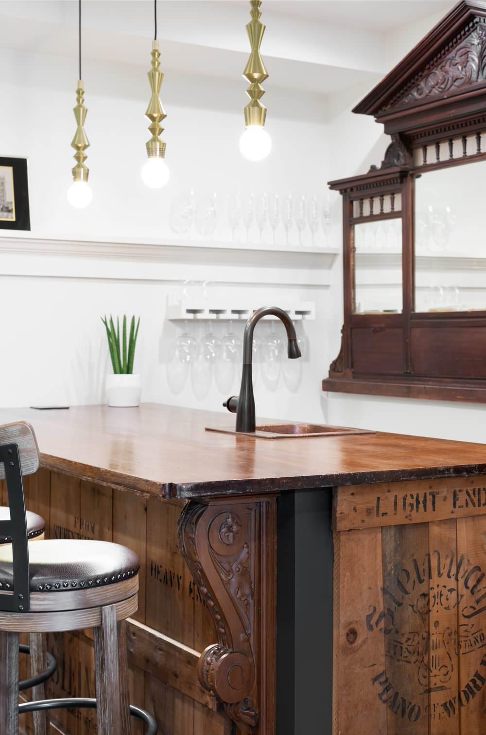 Historic Home Basement Renovation