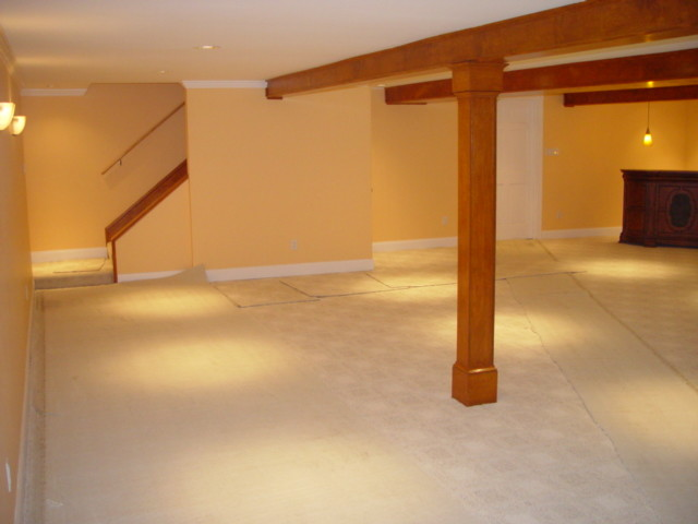 Renovation and 2800 SF Addition traditional-basement