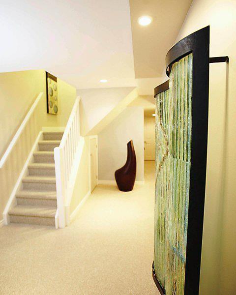 Home Renovation- Basement-Bathroom-Bedroom contemporary-basement