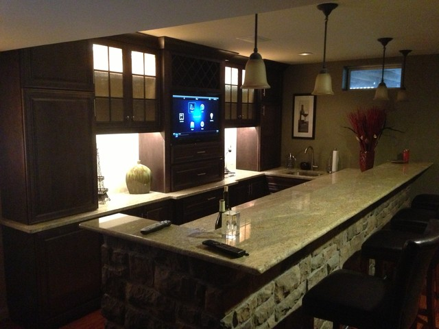 Home Solutions traditional-basement