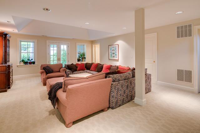 House 5 traditional-basement