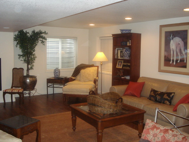 in law suite basement living traditional basement denver by