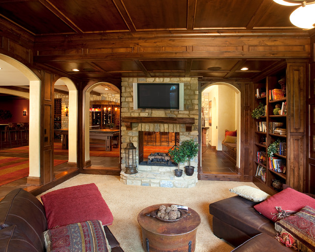 Indian Hill, Ohio - Traditional - Basement - Cincinnati ...