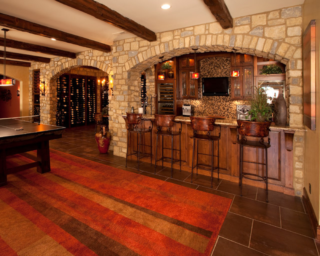 Indian Hill Ohio Traditional Basement Cincinnati By WV De Stefano Homes LLC