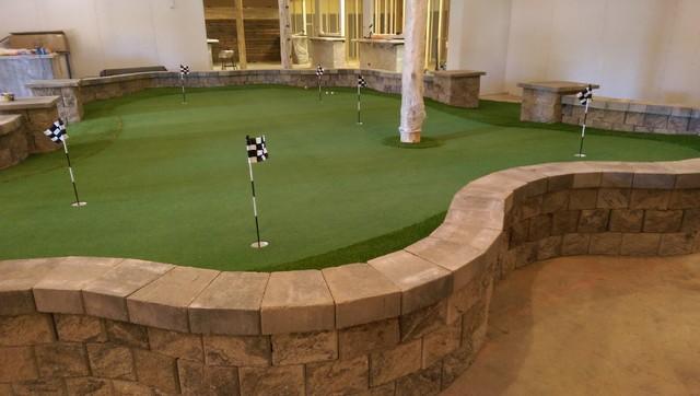 Indoor Putting Greens - Modern - Keller - Denver - von PlushGrass ...