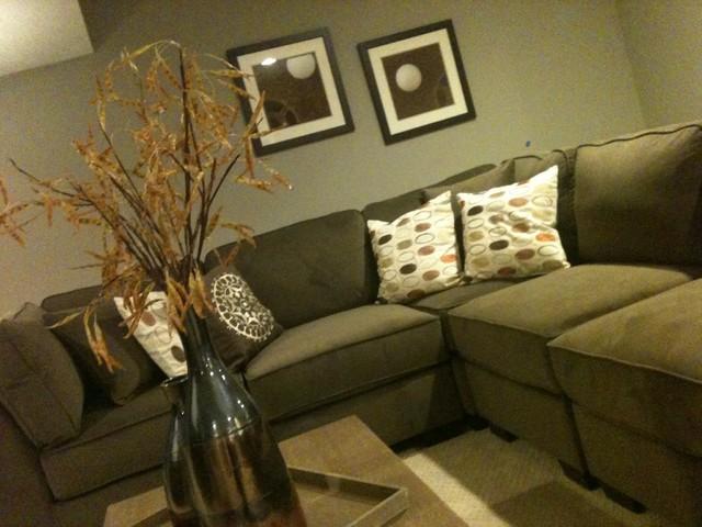 Interior Design - Grace Meadows traditional-basement