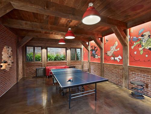 Polished Concrete Floors Basement Bar Ideas Cleverly