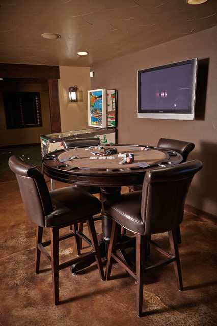 shallow pond traditional basement denver by highcraft builders