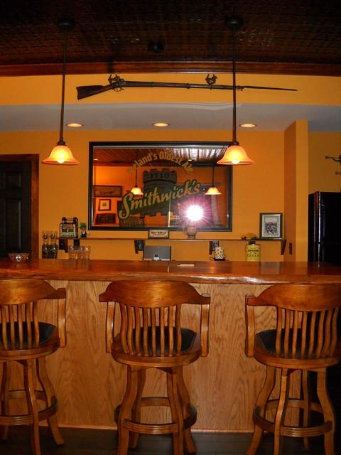 irish pub basement traditional basement
