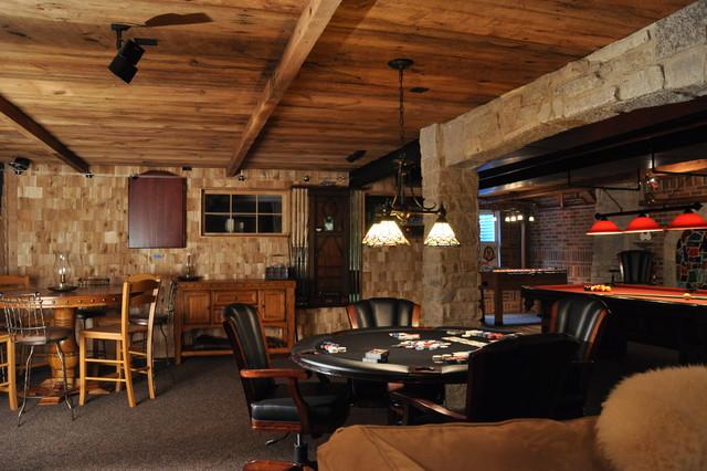 Irish Pub Man Cave - Klassisch - Keller - Chicago - von Reclaimed ...