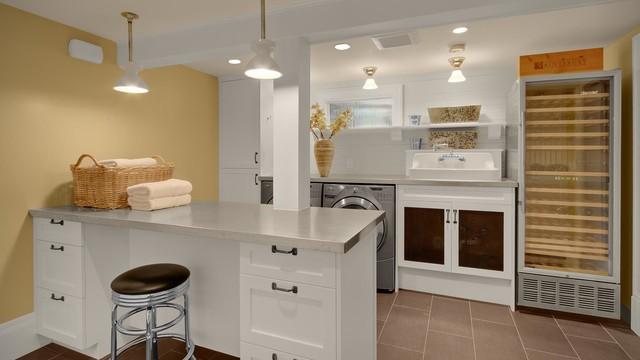 JAS Design-Build: Basements craftsman-basement