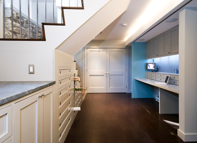 Jenifer St. Residence contemporary-basement