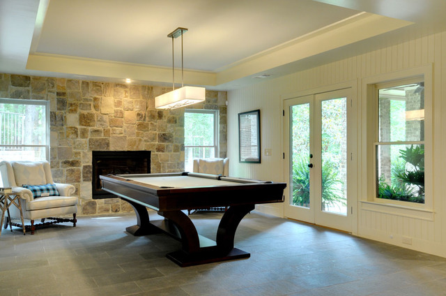 John Willis Custom Homes beach-style-basement