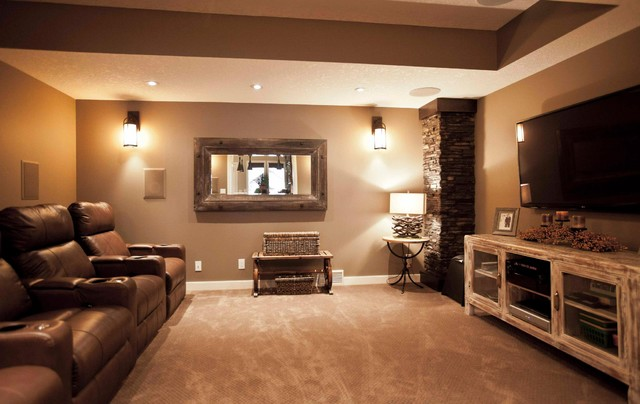 jubinville project traditional basement calgary by 17 best images about entertainment room basement ideas on