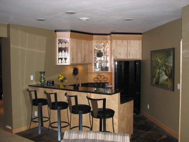 Keiner Basement traditional-basement