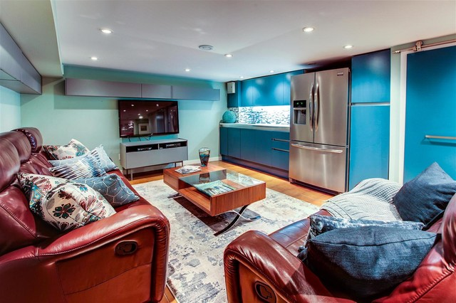 Kingston Rd - Contemporary - Basement - Toronto - by The Graces - ReMax Hallmark Realty