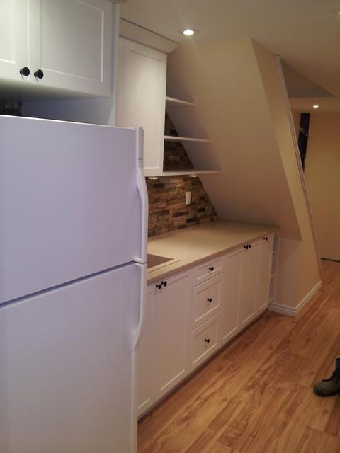 Kitchen Nook Modern Basement Toronto By Alliston Home Hardware Building Centre