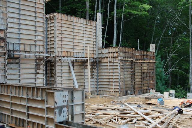 Lake Bluff Lodge (Under Construction) rustic-basement