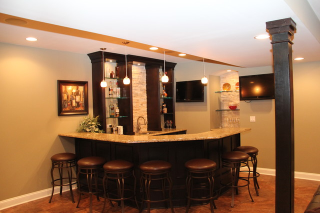 Lake Zurich Basement Transitional Basement Chicago By Creative Homes Lake Zurich Il