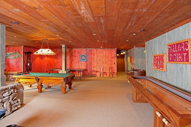 Lakeside Lodge traditional-basement