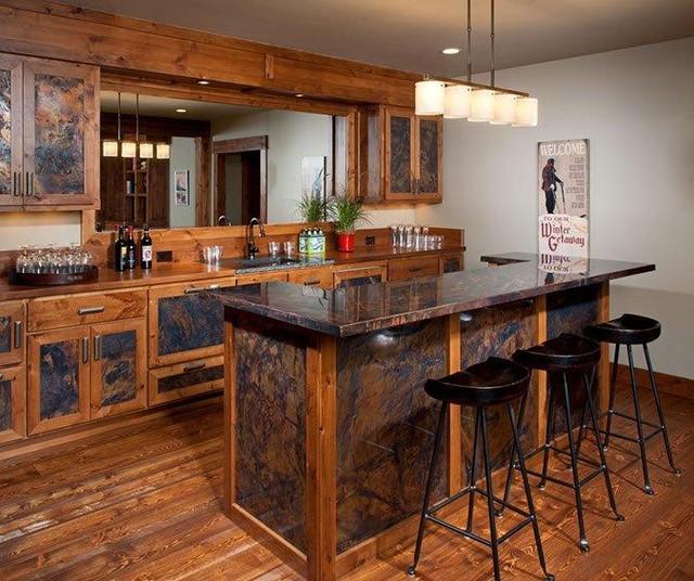 Lakeside Retreat traditional-basement