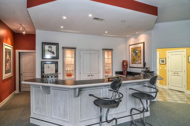 Leawood Ks Villa Basement Kansas City By Acquired